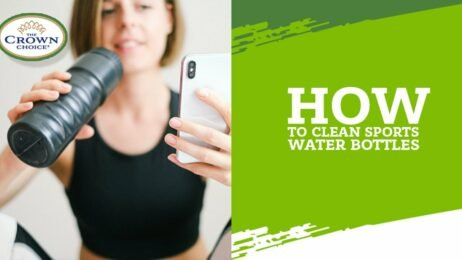 How to Clean Sports Water Bottles