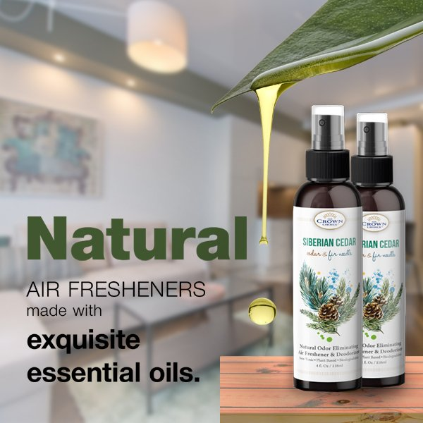 natural cedar air freshener