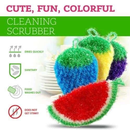 dish scrubbie all purpose scrubber