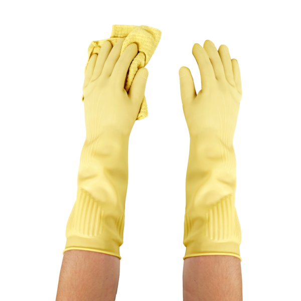 Best Rubber Gloves - Protect sensitive skin with our long rubber hand gloves 1