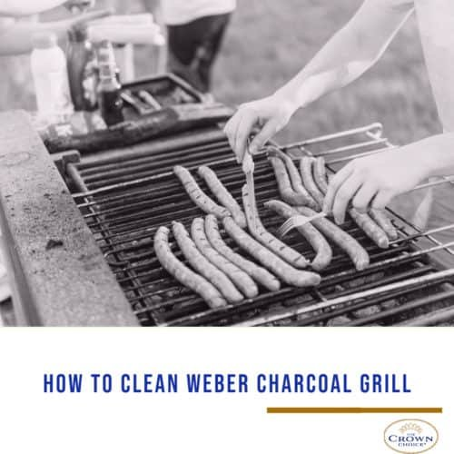 How to Clean Weber Charcoal Grill 1