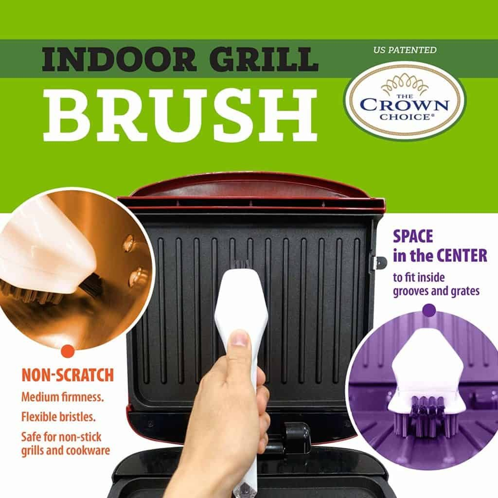 How to Clean Cast Iron Grill Pan with Our Cast Iron Brush 1