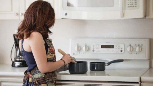 lady stirring a pot