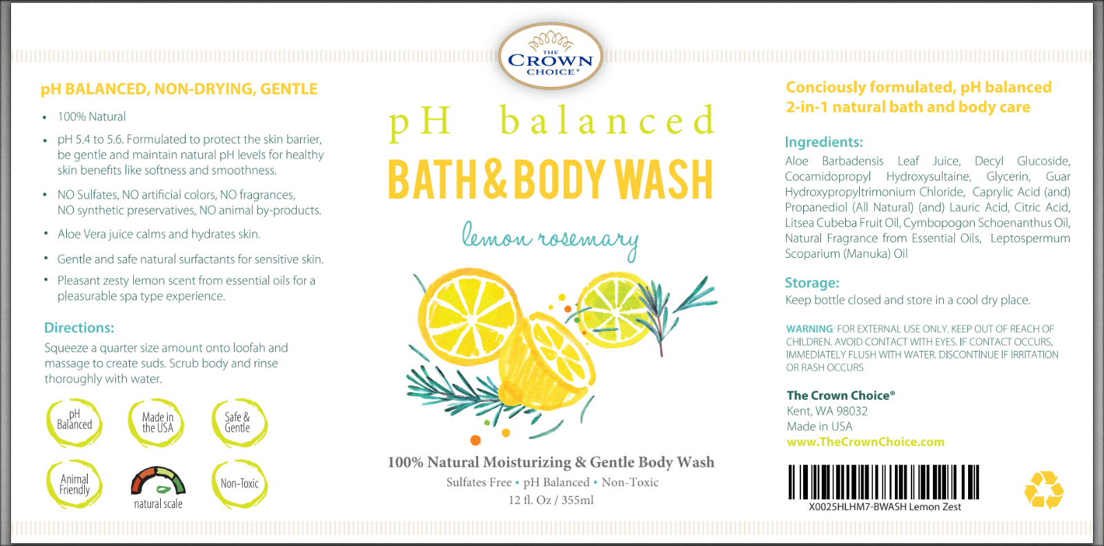 Why Switching to Organic Body Wash Is Good for You 3