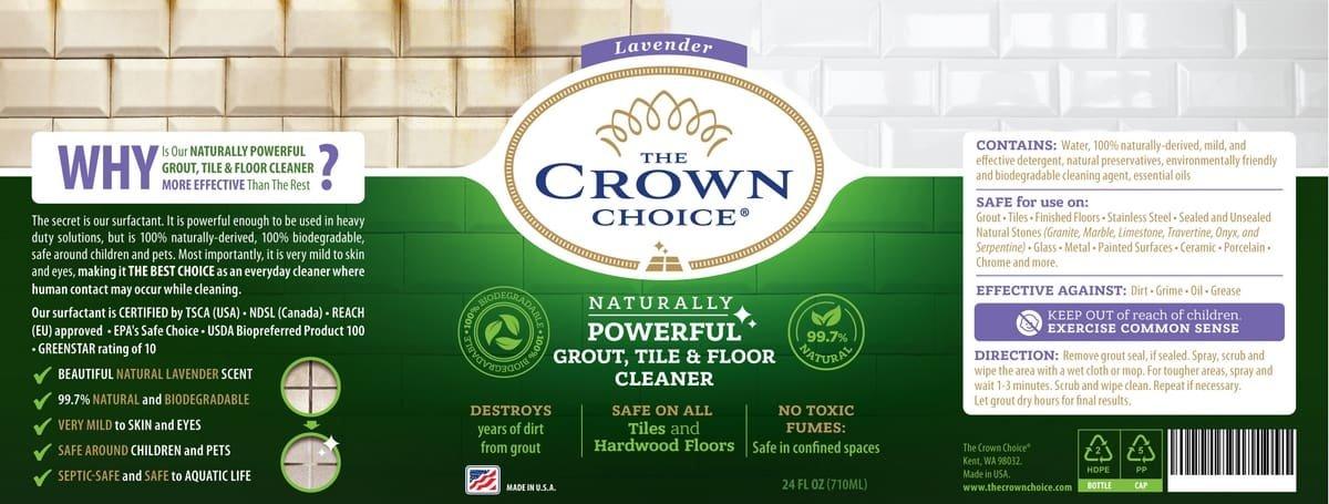 natural grout cleaner Lavender Floor Cleaner