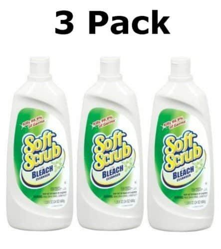soft scrub bleach