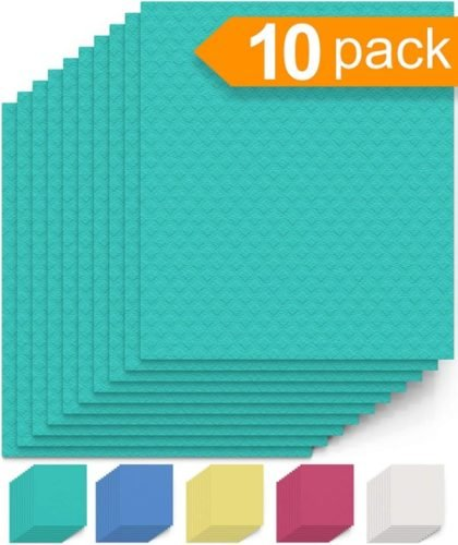 swedish dish cloth 10 pack