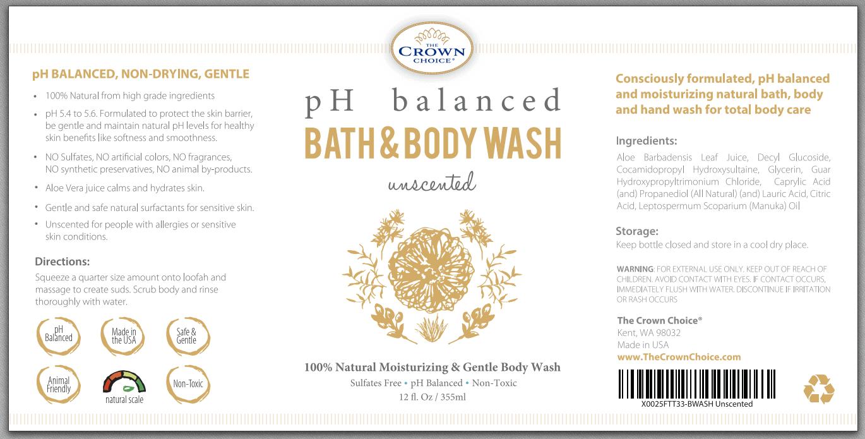 Best Unscented Body Wash - Natural and fragrance free shower gel 7